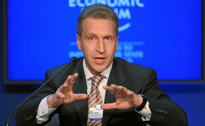 В русской экономике сейчас, ксожалению, нет ниодного «пузыря»— Шувалов