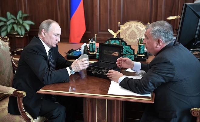 Путин призвал «Роснефть» обсудить выплату дивидендов