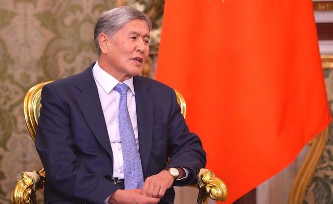 ВКазань прибыл президент Кыргызстана