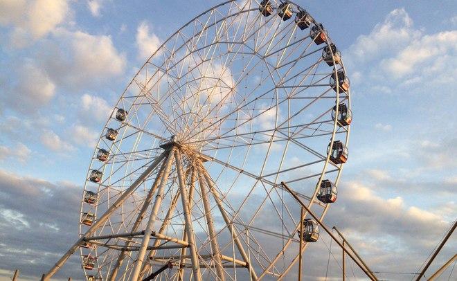 Новое колесо обозрения откроется вКазани доконца 2016