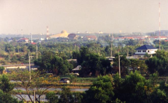 Водном изкрупнейших буддийских храмов Таиланда произошел обыск