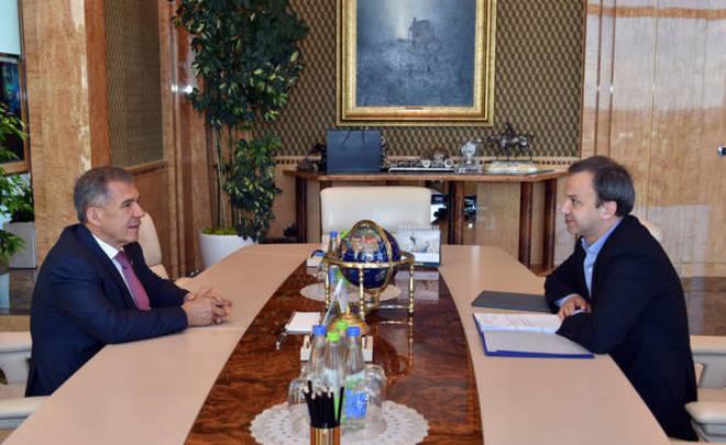 Дворкович проведет вКазани совещания подвум приоритетным проектам