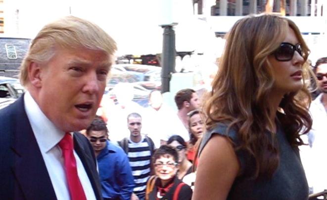 Супруги Трамп станцевали под песню Синатры набалу вчесть инаугурации