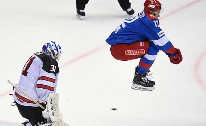 Олимпийская сборная РФ  обыграла Канаду наSochi Hockey Open