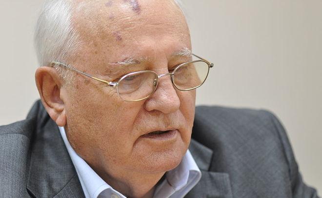 Горбачев написал для журнала Time статью про В.Путина