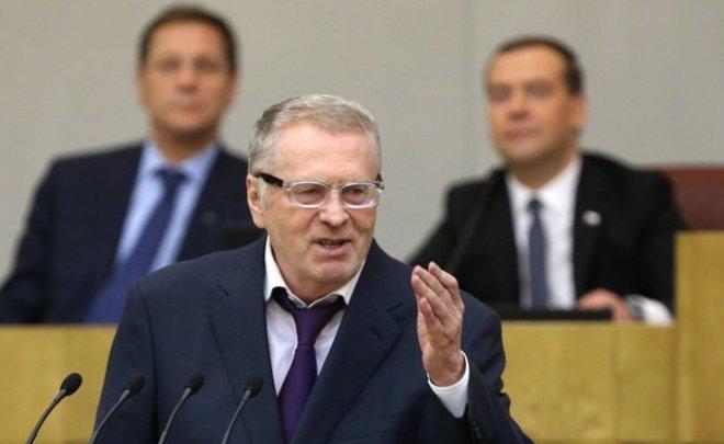 Жириновский предложил непубликовать информацию одоходах депутатов ради публичного спокойствия