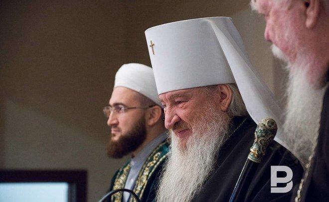 Митрополит Феофан поздравил православных Татарстана сРождеством
