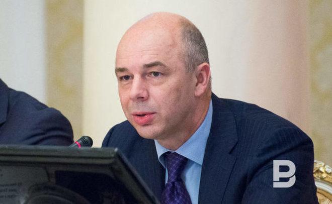 А.Силуанов объявил очистом притоке капитала вРФ вIквартале