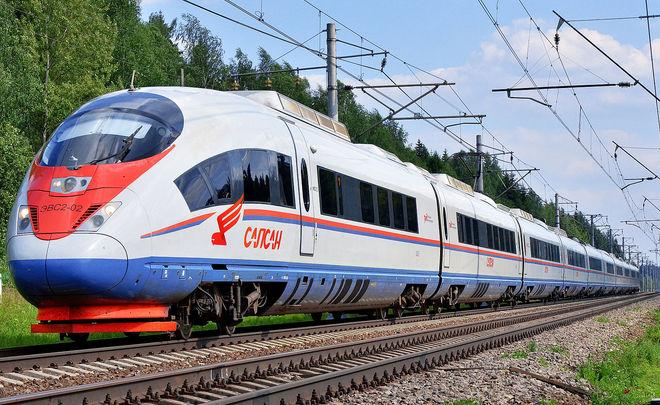 РЖД объявили обизменении стоимости билетов на«Сапсан»