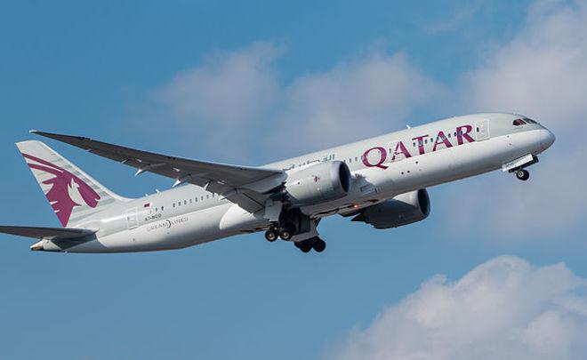 Лайнер Qatar Airways исполнит самый длительный полет вистории