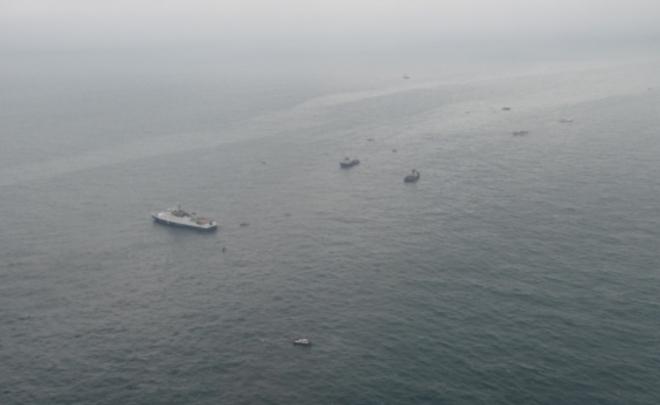 Уберега Сочи найдено огромное скопление обломков Ту-154 ифрагментов тел