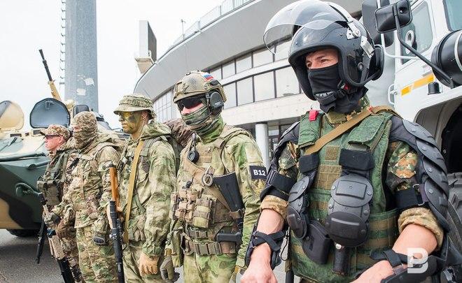ВКазани группировка войск «Росгвардии» обеспечит безопасностьЧМ