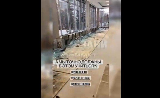 «Здание сейчас непригодно для обучения»: студенты Казанского института культуры пожаловались на ремонт