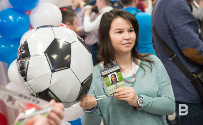 Неменее 76 тыс. паспортов болельщика выдали вТатарстане