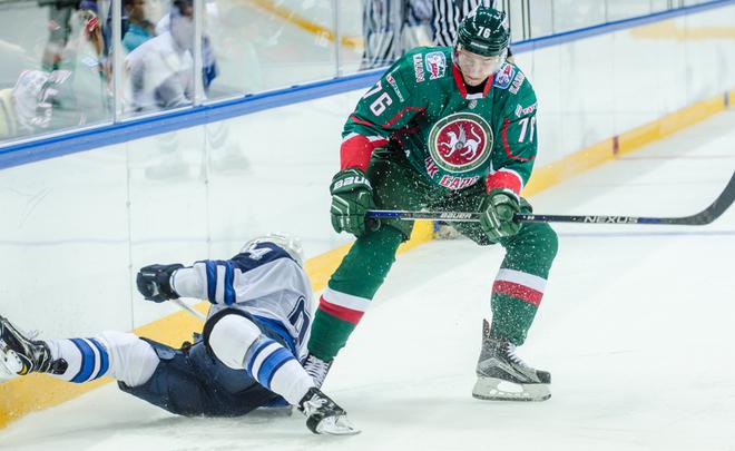 «АкБарс» переиграл «Сибирь» вНовосибирске