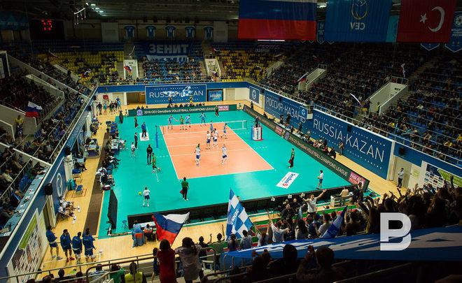 Матчи этапа Мировой лиги поволейболу перенесены изСургута вКазань