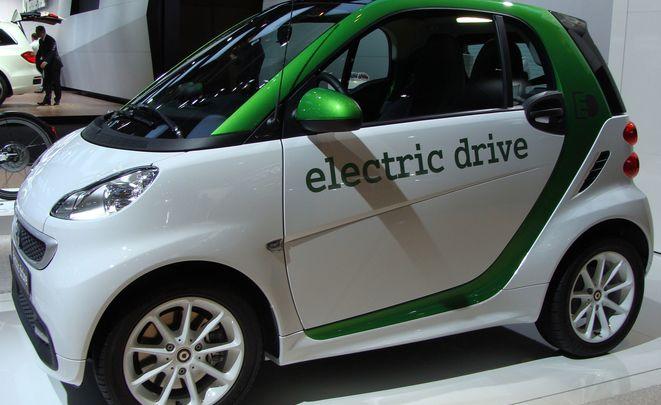 Продажи электромобилей в РФ упали практически на20%
