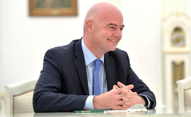 Инфантино: «Отчет Макларена невходит вкомпетенцию ФИФА»
