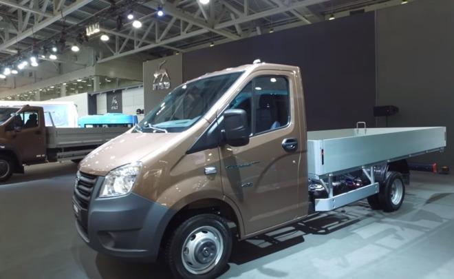 ГАЗ презентовал новейшую модификацию «Газель Next»