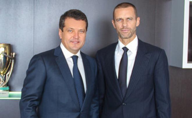 Президент «Рубина» встретился сглавой УЕФА