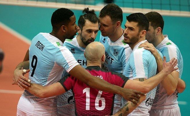 Казанский «Зенит» вновь победил «Кузбасс» ивышел вфинал мужской Суперлиги