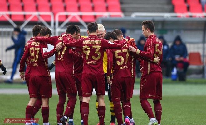 «Рубин» и«Оренбург» сыграли вничью