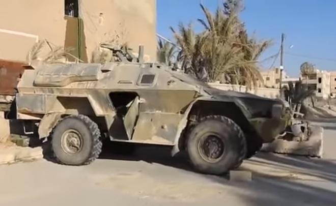 Боевики ИГИЛ показали навидео захваченную Пальмиру