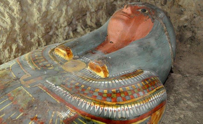 Археологи отыскали вЕгипте мумию возрастом около 3 тыс. лет