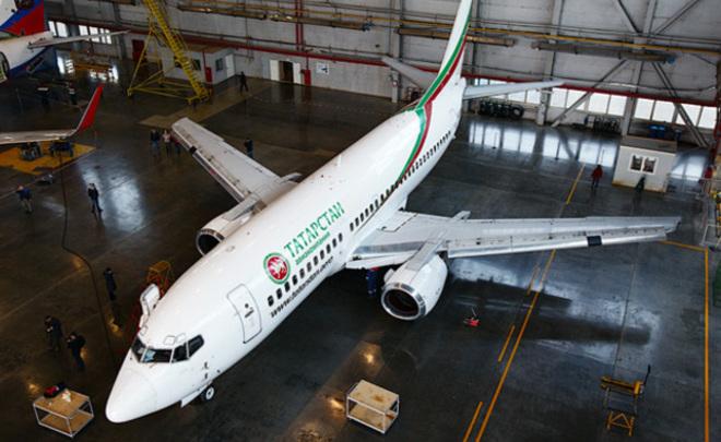 Последний самолет авиакомпании «Татарстан» продан поцене машины