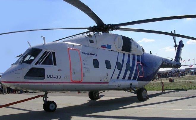 Казанский вертолетный завод запустил производство многоцелевых Ми-38