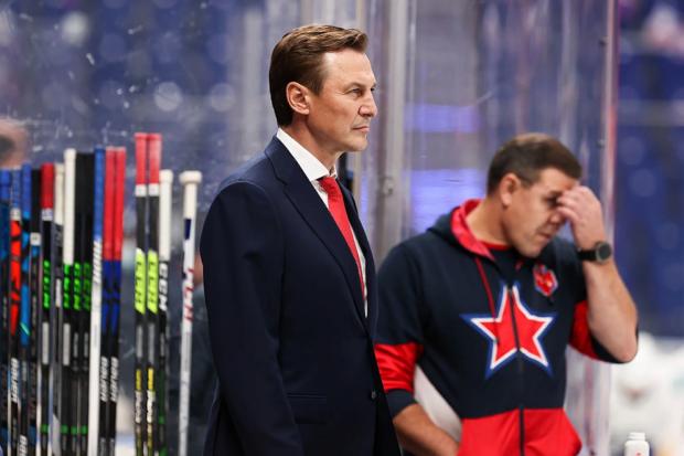 Рейдеборн пропустил 11 шайб в первых 3 матчах за ЦСКА в КХЛ