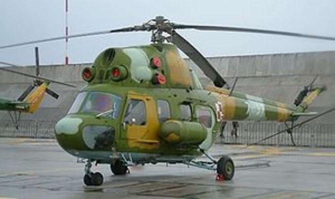 Под Краматорском разбился вертолет Ми-2 ВСУ, есть жертвы