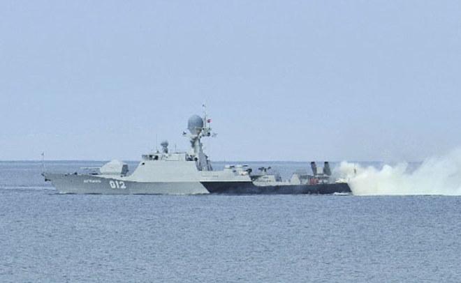 НаКаспийской флотилии РФ началась неожиданная проверка боеготовности