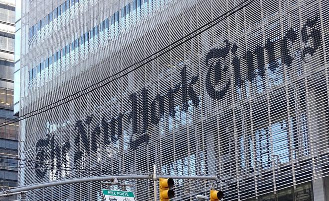 Роскомнадзор выписал сайту The New Times предупреждение заиспользование мата