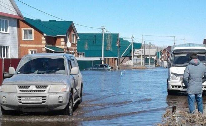 Талые воды затопили 84 участка на3 дорогах — Подтопление вЗубово