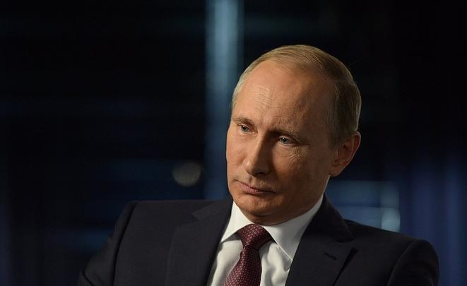 Задва года рейтинг В. Путина вСША вырос нашесть процентов