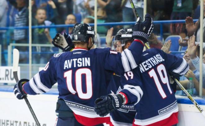 «Нефтехимик» победил «Северсталь» вчемпионате КХЛ