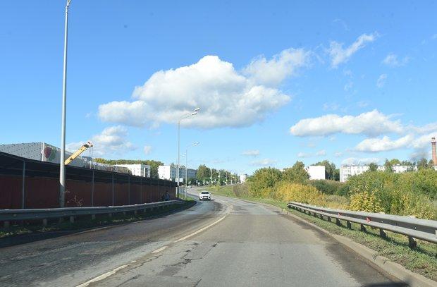 В Челнах на время строительства моста через Мелекеску на улице Гостева перекроют проезд