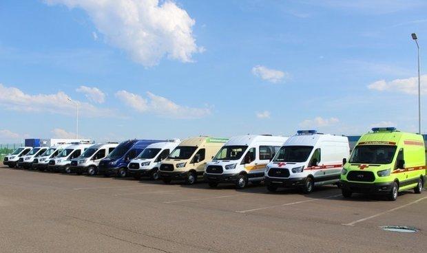 В России выпустили 90-тысячный Ford Transit