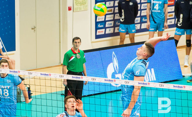 Vkontakte.ru «Зенит» одержал победу у«Белогорья» впервом матче «раунда 6-ти»