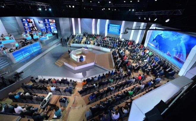 Перенос «Прямой линии» сПутиным несвязан сакциями протеста— Кремль