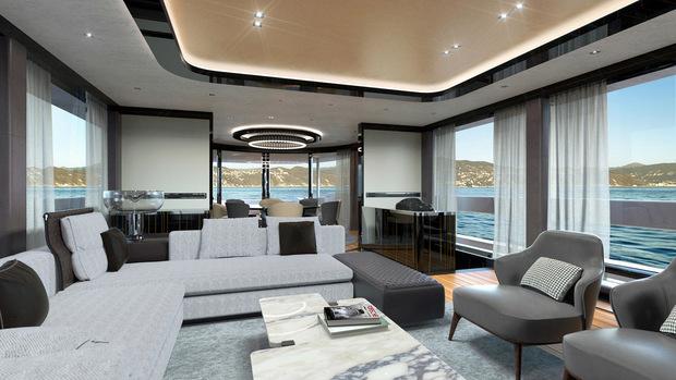 Порш спустила наводу первую яхту класса люкс стоимостью $16 млн