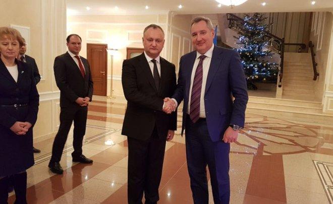 Рогозин: Президент Молдавии принял приглашение В.Путина посетить РФ