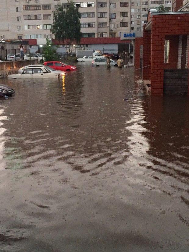 затопление квартиры после дождя