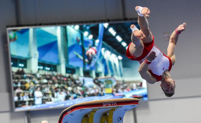 Русские гимнастки завоевали три медали натурнире вИталии