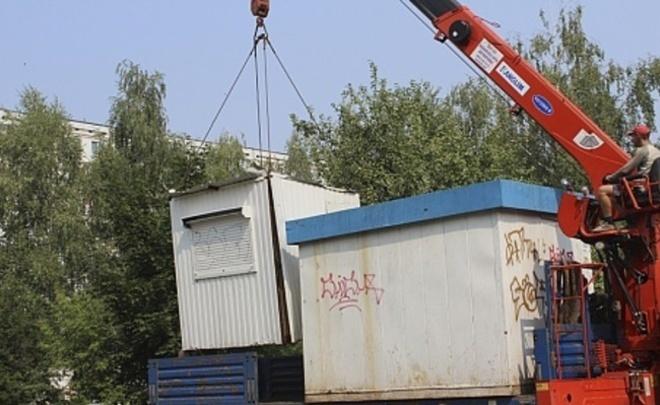 ВКазани снесут 25 нелегально установленных торговых павильонов