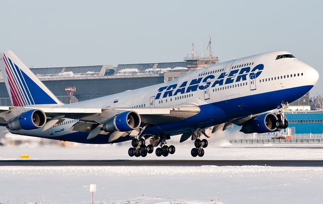 Акции «Трансаэро» взлетели на40% нановостях оновом авиаперевозчике