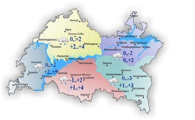 Гололед имокрый снег ожидаются вначале рабочей недели вКарелии