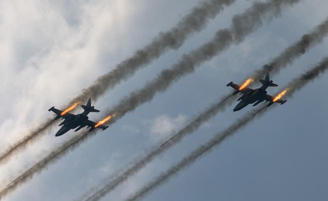 ВВС РФ иТурции начали общую операцию вСирии