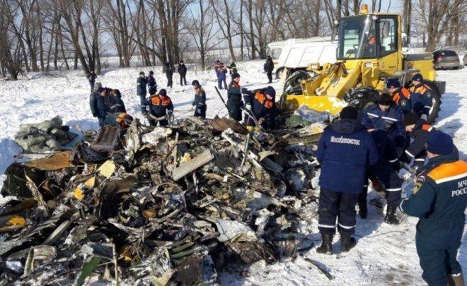 Обнародована запись переговоров пилотов разбившегося Ан-148